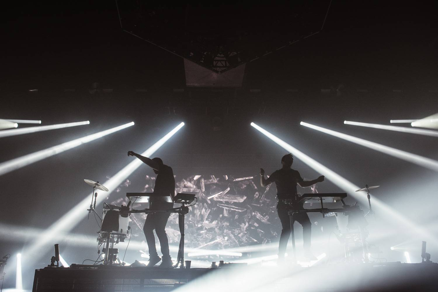 Odesza at the PNE Forum, Vancouver, Nov 3 2017. Pavel Boiko photo.
