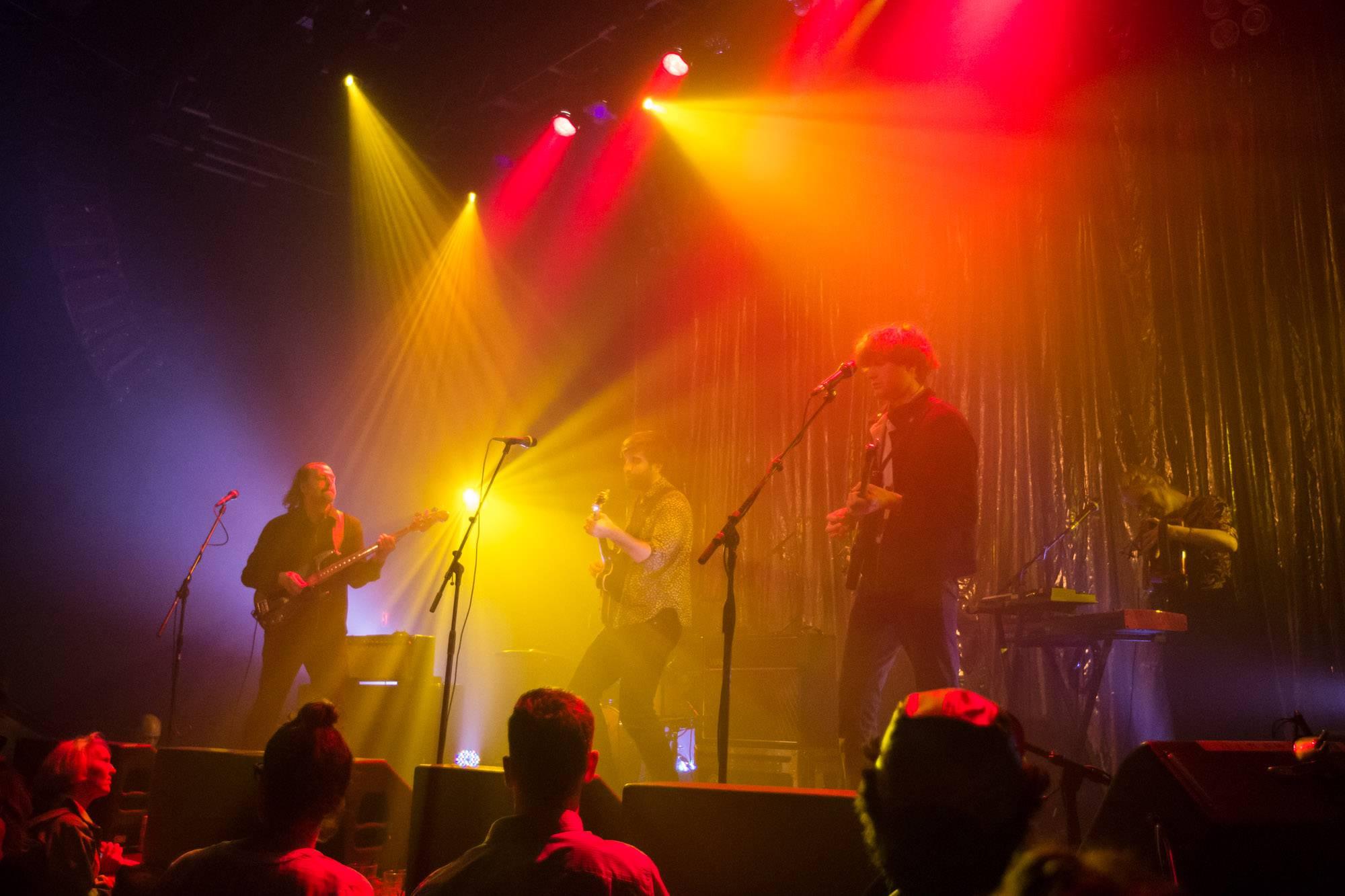 Shout Out Louds at Venue, Vancouver, Nov 12 2017. Kirk Chantraine photo.