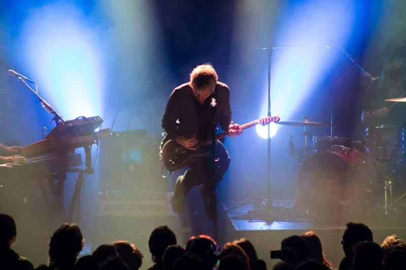 Franz Ferdinand at the Commodore Ballroom, Vancouver, Dec 5 2017. Kirk Chantraine photo.
