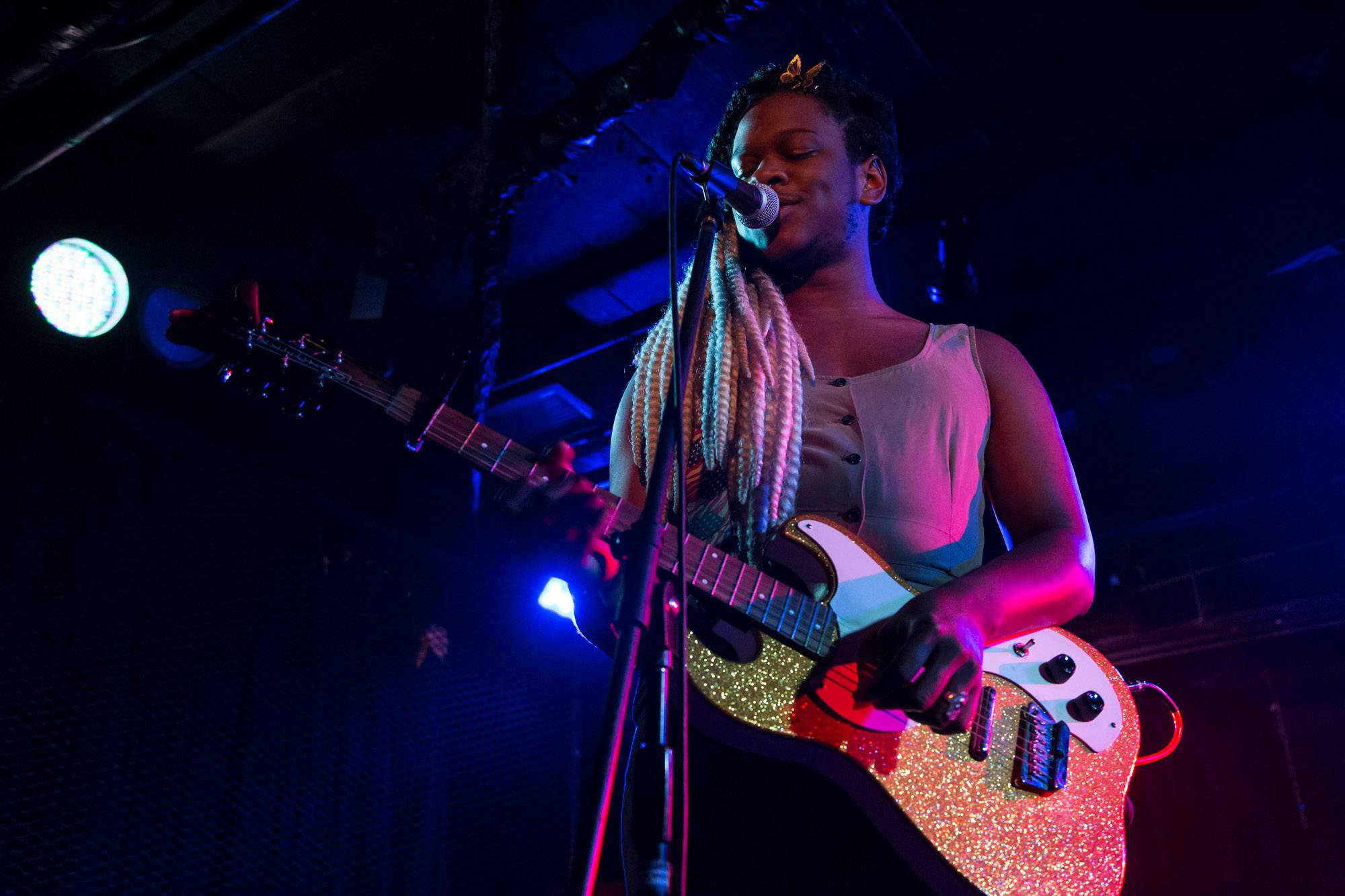 Shamir at the Biltmore Cabaret, Vancouver, Feb 28 2018. Kirk Chantraine photo.