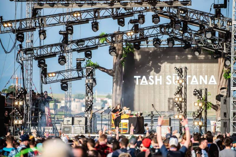 Tash Sultana at the Sasquatch Music Festival 2018 - Day 1, Gorge WA, May 25 2018. Pavel Boiko photo.