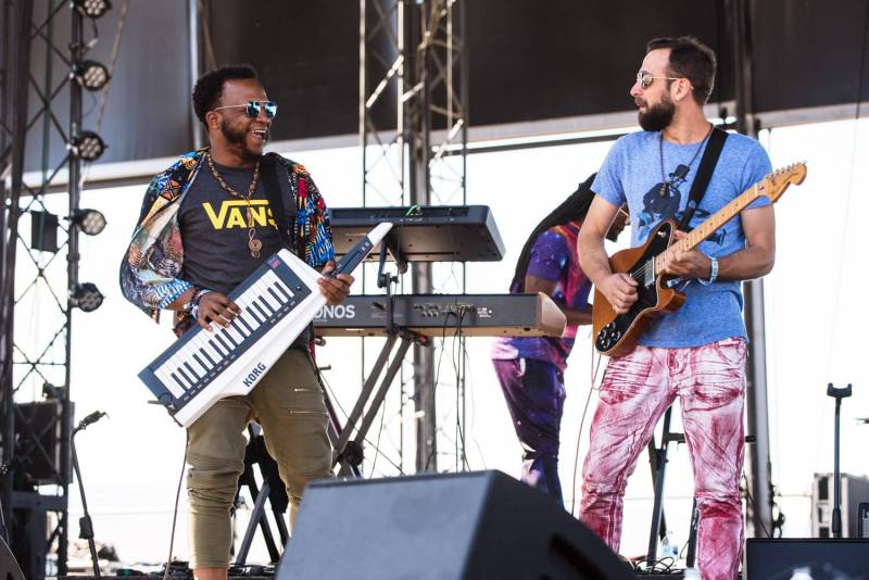 Tank & The Banga at the Sasquatch Music Festival 2018 - Day 3, Gorge WA, May 27 2018. Pavel Boiko photo.