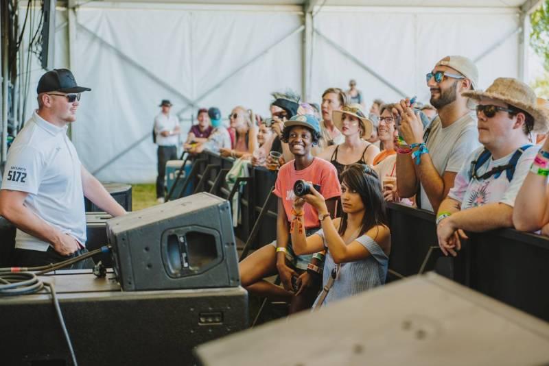 Sasquatch Music Festival 2018 Fans, Gorge Amphitheatre, WA, May 25-27 2018. Pavel Boiko photo.