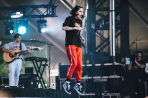 Bishop Briggs at the Bumbershoot Music Festival 2018 - Day 3. Sept 2 2018. Pavel Boiko photo.
