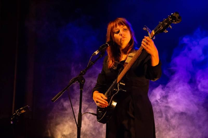 Angel Olsen at Westward Music Festival, Vancouver, Sep 15 2018. Kirk Chantraine photo.