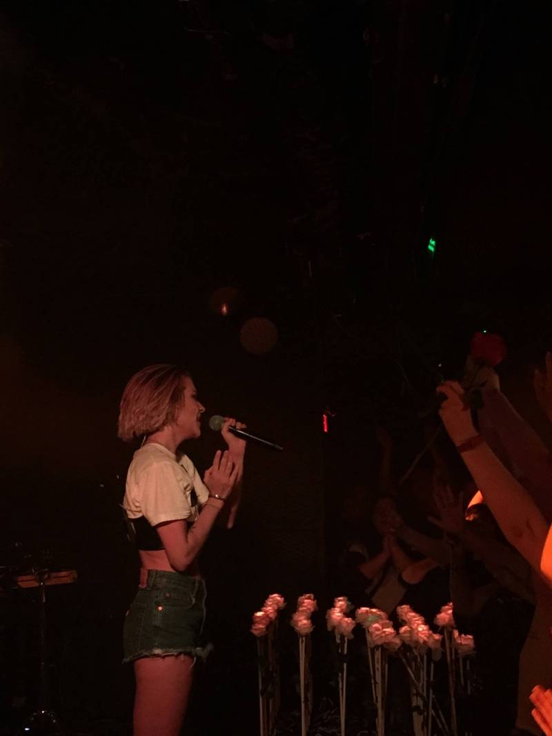 Tove Styrke at the Biltmore Cabaret, Vancouver, Oct 20 2018. Shawn Conner photo for thesnipenews.com.