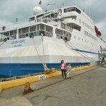 The Book Ship Logos Hope Docks in Subic