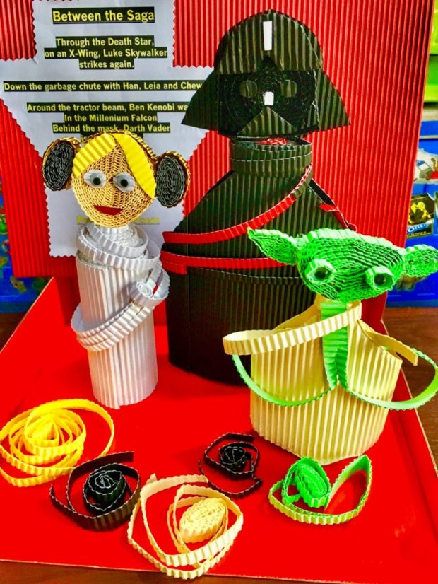 Star Wars Characters Paper Quilling
