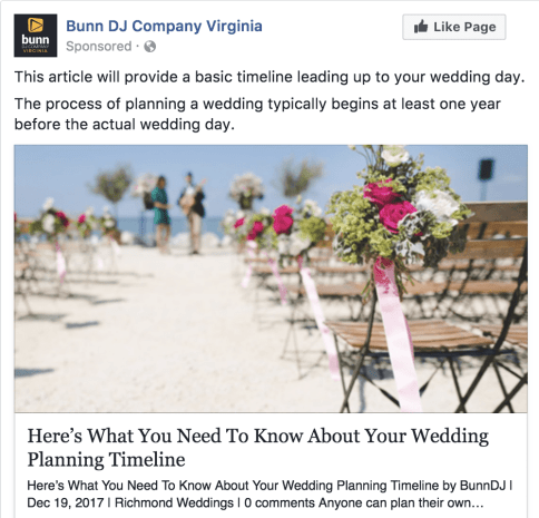 Facebook Ad Without Call To Action Button
