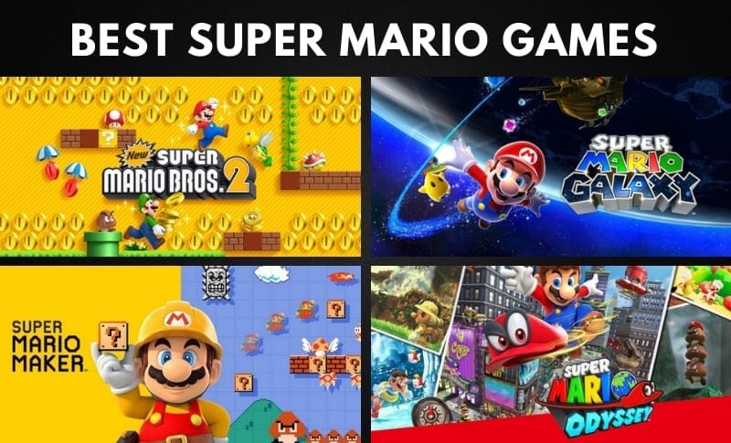 The 15 Best Super Mario Games of All Time (Ranked)