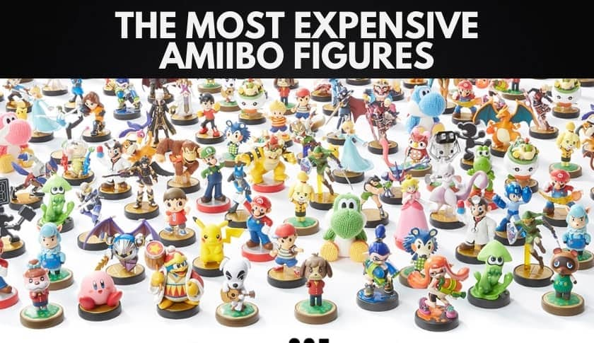 The 10 Most Expensive Amiibo Figures Ever Sold (2020)