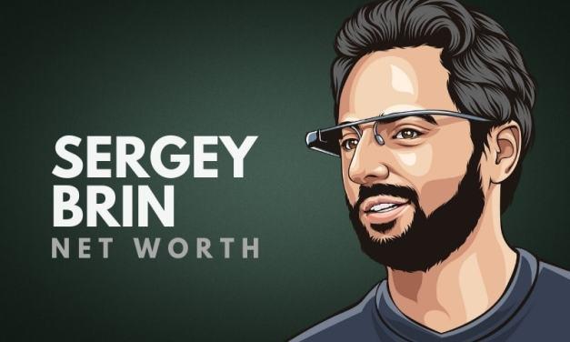 Sergey Brin's Net Worth in 2020