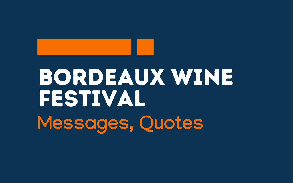 Bordeaux Wine Festival: 48+ Messages