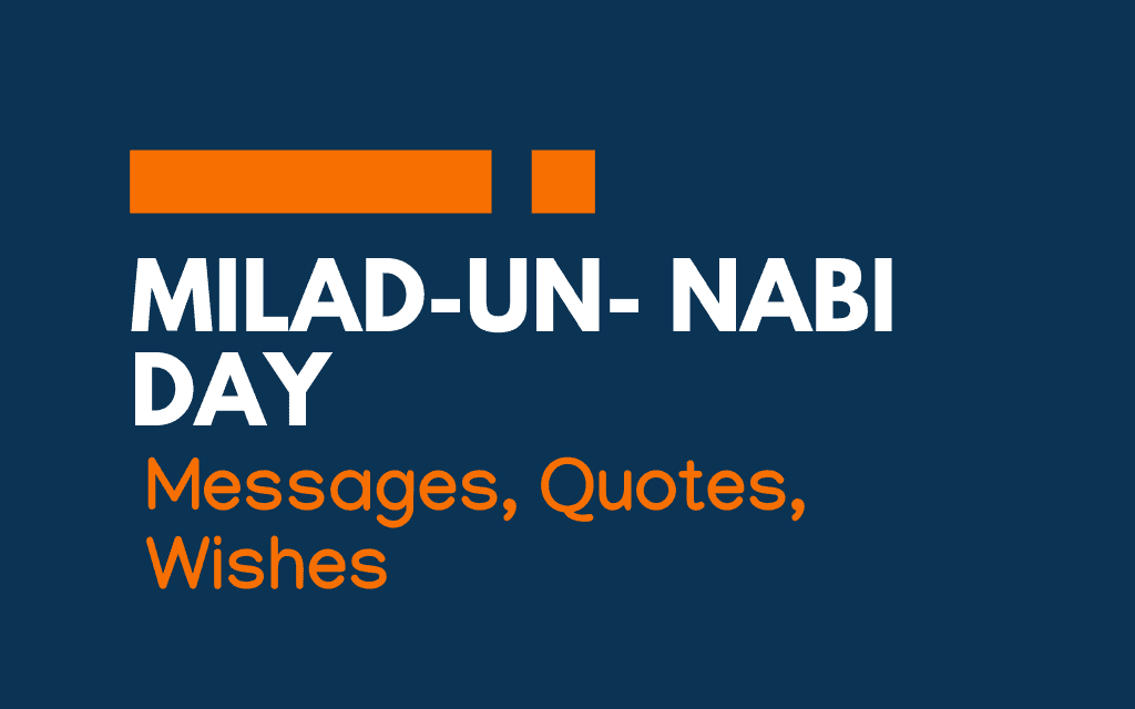 Milad-un- nabi: 61+ Messages, Greetings, and Quotes