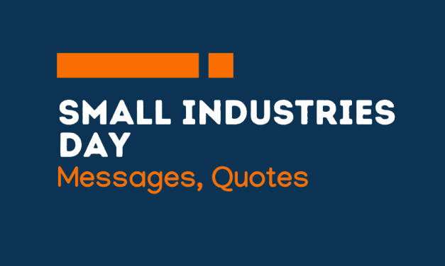Small Industries Day: 69+ Greetings, messages and quotes