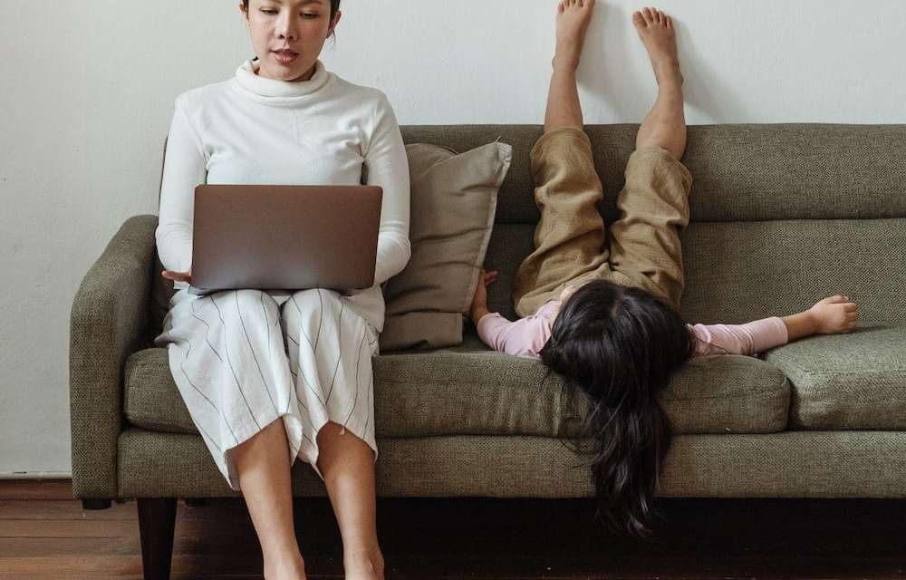 Working from Home with Style by Laura McLoughlin of @glazedigital