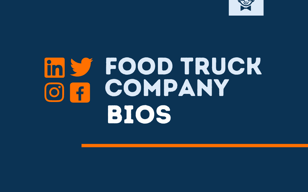 101+ Best Food Trucks bios for Social media