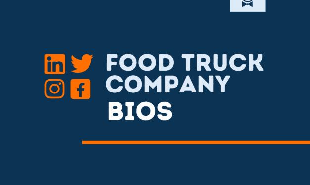 101+ Best Food Trucks bios for Social media