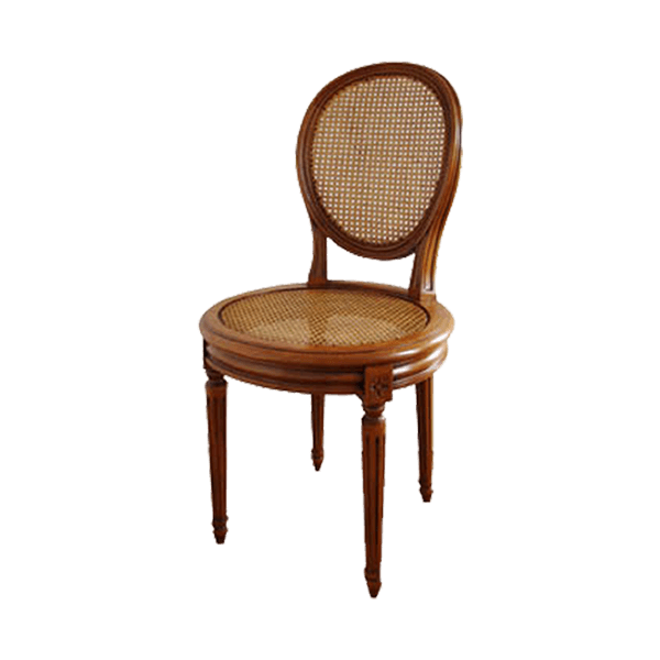Chaise Canne Style Louis XVI The Socialite Family