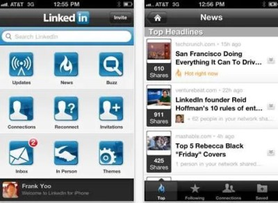 Use the LinkedIn iPhone app to easily add more connections and grow your social network.