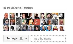Google+ Circle Settings