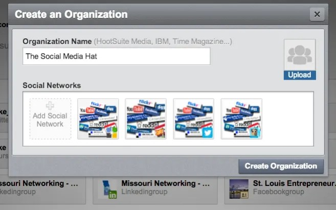 How to create a HootSuite Organization