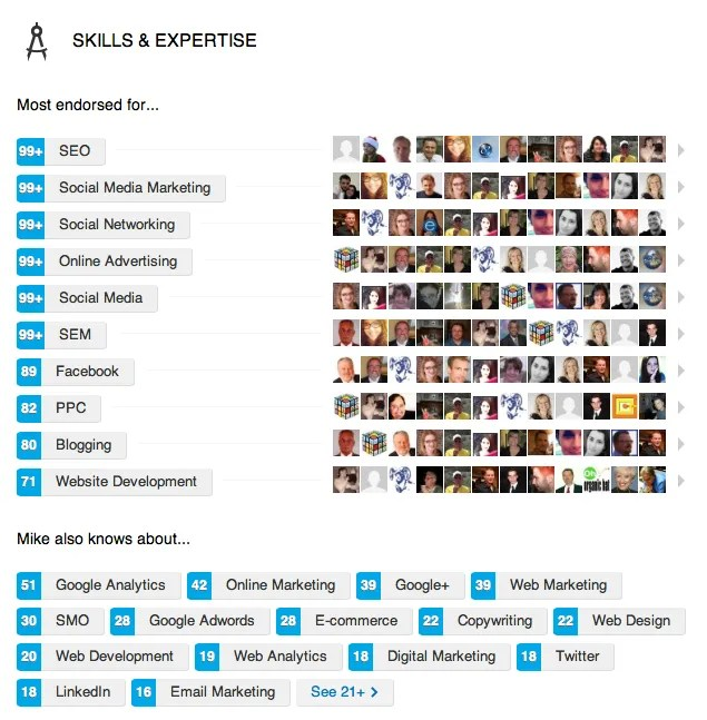 You can include up to 50 skills on your LinkedIn profile.