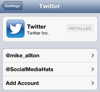 How to set up multiple Twitter profiles.