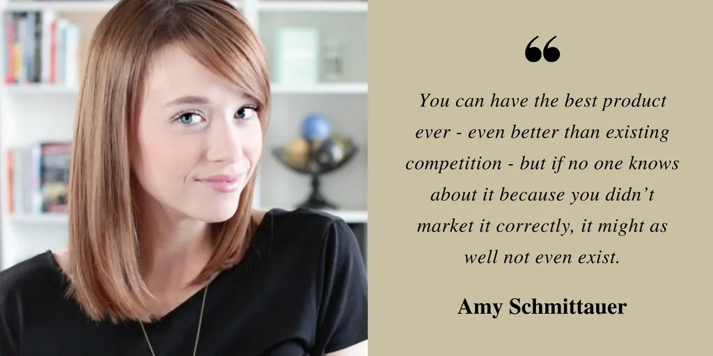 Amy Schmittauer quote from Vlog Like A Boss