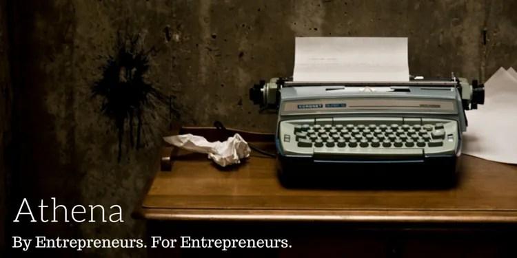 Athena. By Entrepreneurs. For Entrepreneurs.