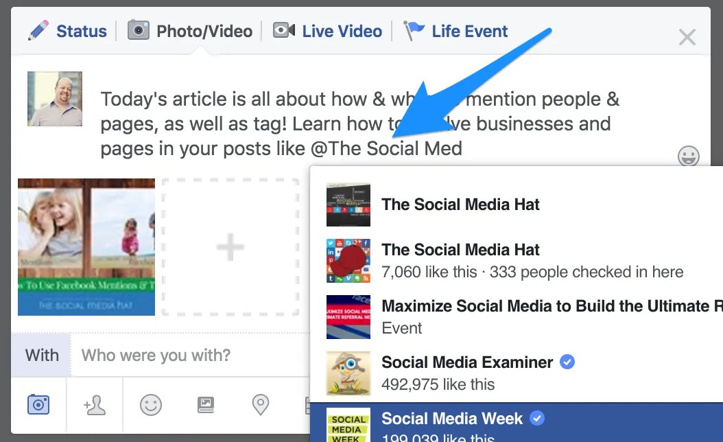 Facebook Mentions and Tags - The Complete Guide
