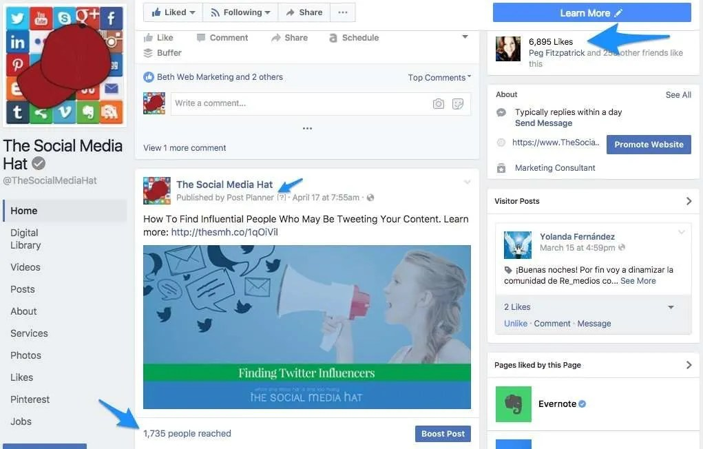 You, too, can achieve these levels of Facebook Reach with the Facebook Survival Kit!