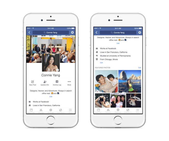 How To Update Your New Mobile Facebook Profile - The Social