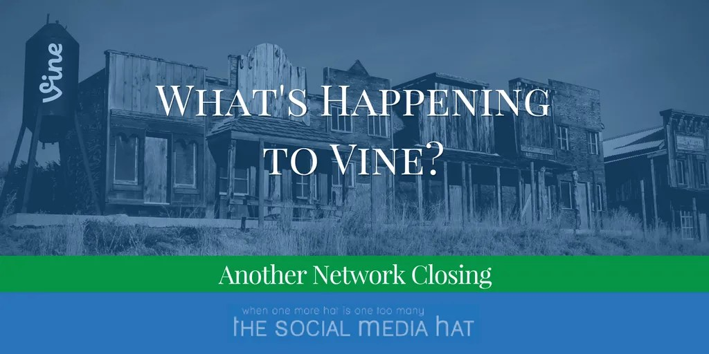 In a stunning announcement, Vine announced on Thursday that the service is essentially shutting down. Why, and more importantly, what will happen to existing Vines and Vine users is of paramount performance.