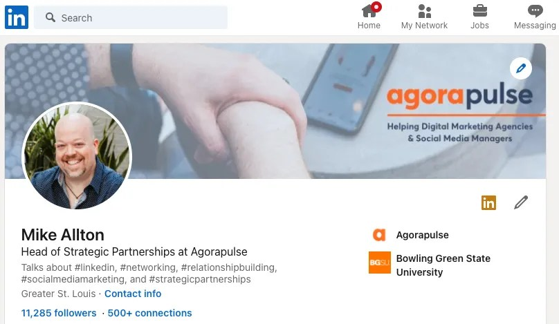 Mike Allton's profile on LinkedIn