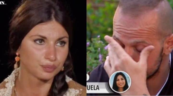 Anticipazioni di Temptation Island, Manuela bacia il single Luciano e tradisce Stefano: le immagini