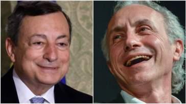 Travaglio supera ogni limite: come può dare del figlio di papà a Mario Draghi che ha perso il padre a 15 anni?