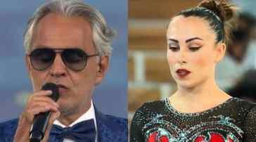 """Vanessa Ferrari, Andrea Bocelli le invia un messaggio dopo la vittoria alle Olimpiadi: """"Spero di incontrarti"""""""