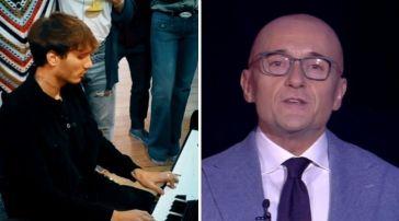 Manuel Bortuzzo suona al piano al Grande Fratello Vip, Alfonso Signorini manda in onda la clip: emozione in diretta