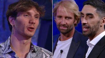 Manuel Bortuzzo ritrova Massimiliano Rosolino e Filippo Magnini al Grande Fratello Vip: forte emozione per il ragazzo