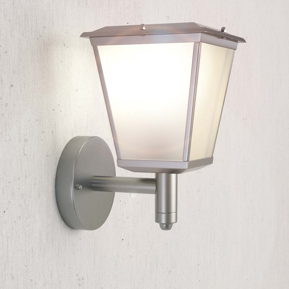 Solar Lights Outside Wall