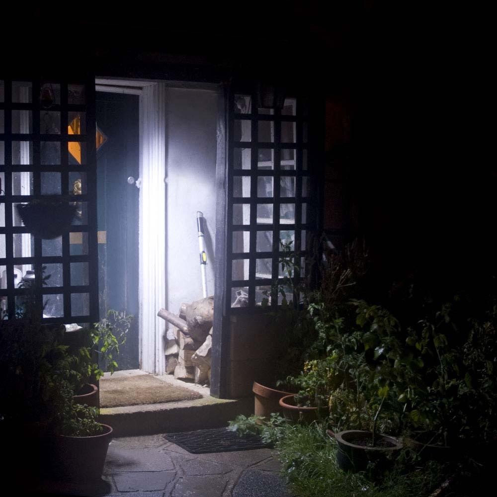Solar PIR Porch Light