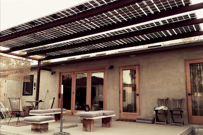 for solar canopies and carports