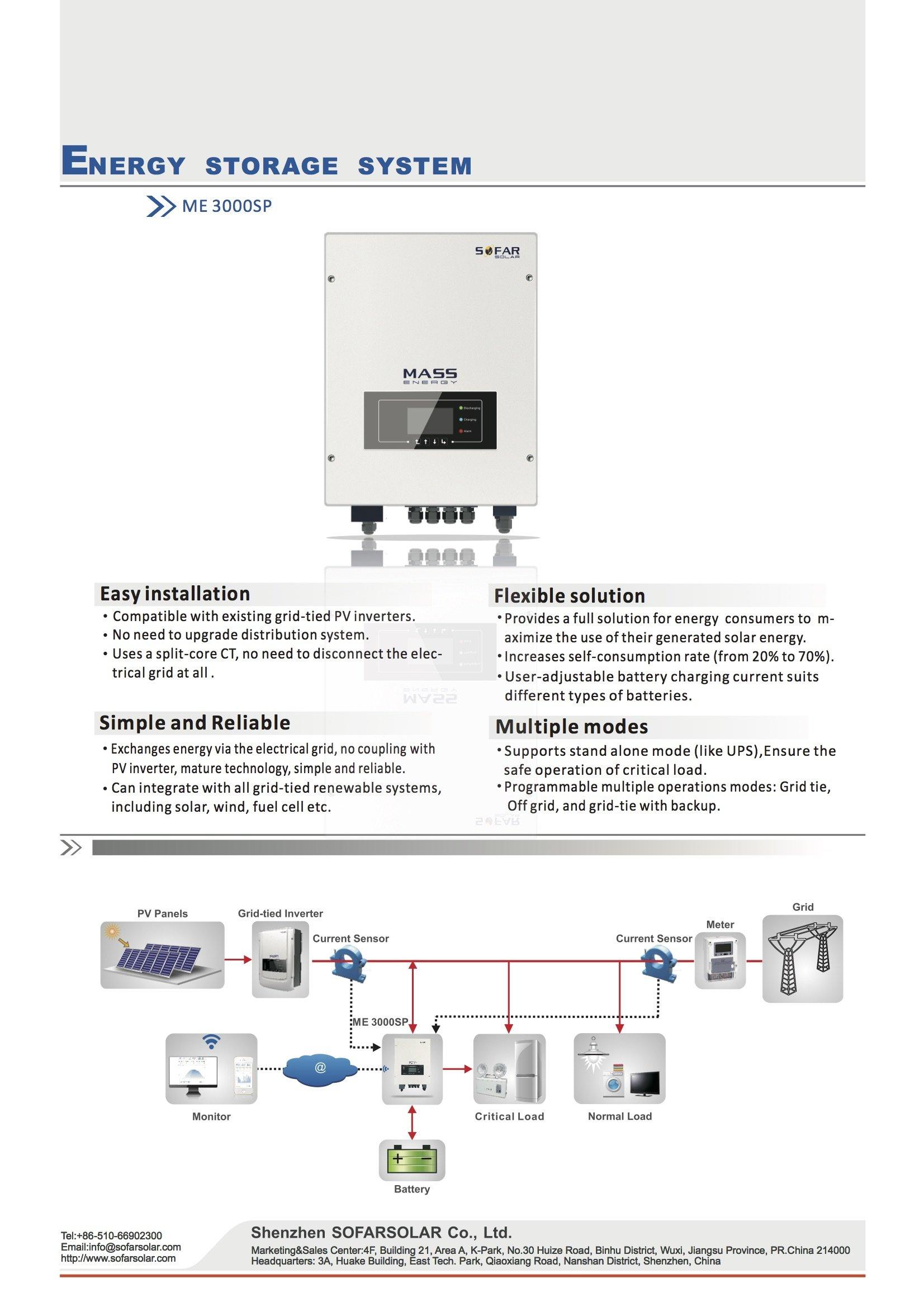 Sofar Solar 4 8kwh Pylontech Solar Battery Storage Easy
