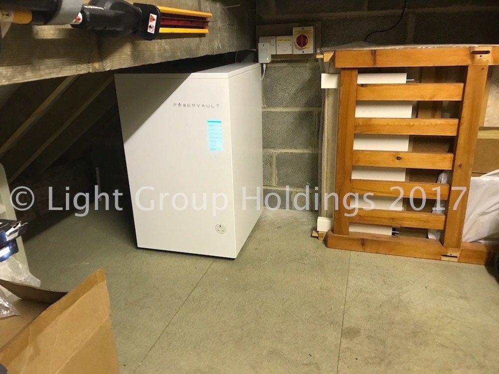 The Solar People Solar Energy Storage PowerVault Battery
