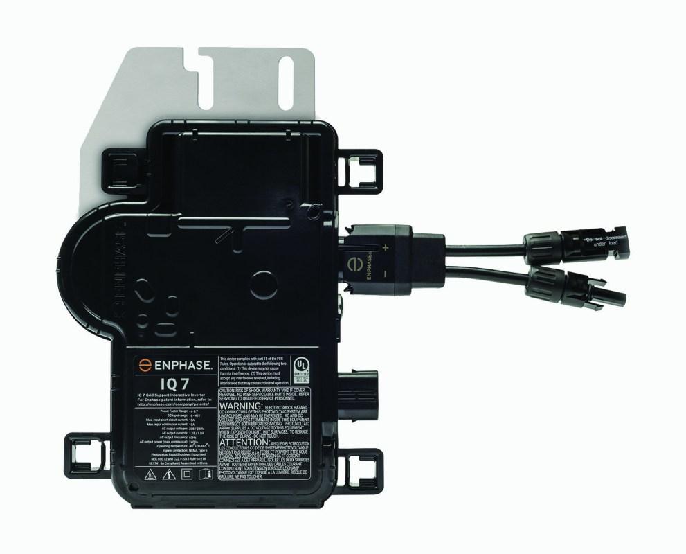 Enphase IQ7 microinverter