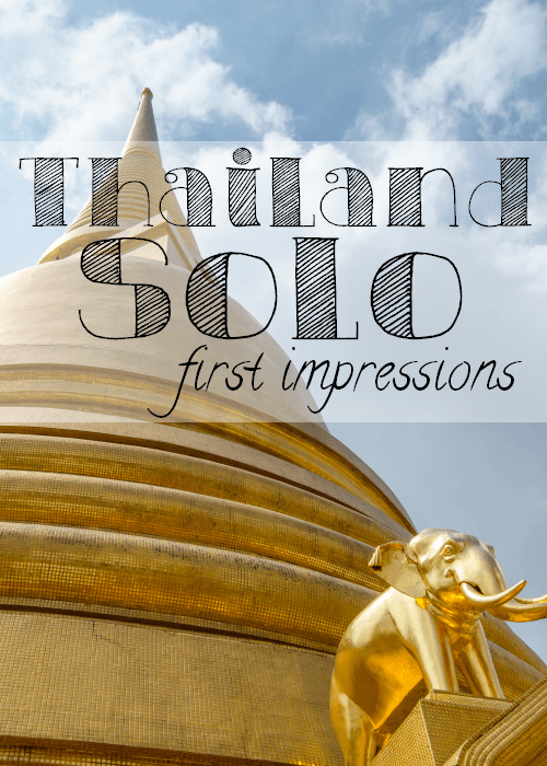 Thailand Alone - The Solivagant Soul