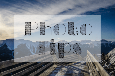 Photo Tips   Photography   The Solivagant Soul