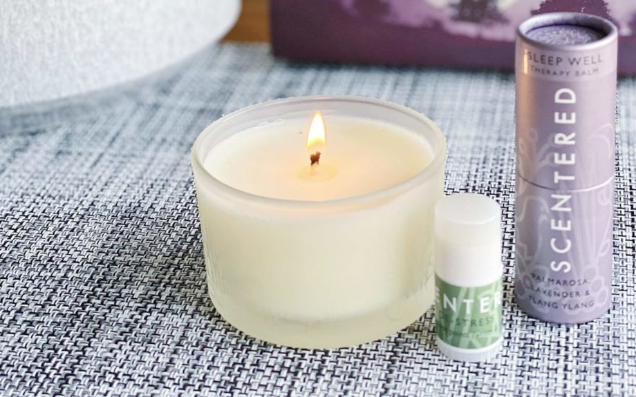 Scentered SLEEP WELL aromatherapy candle and balm