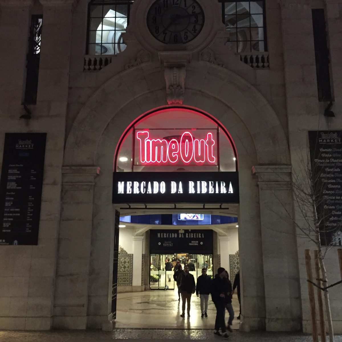time out market entrance in lisbon